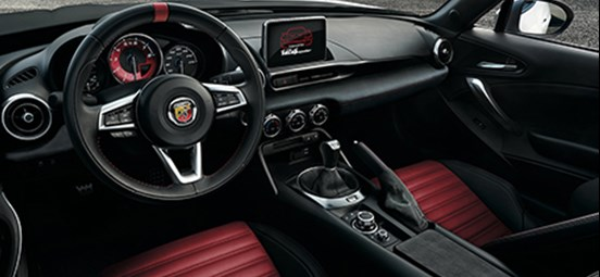 Abarth 124 Spider Interior