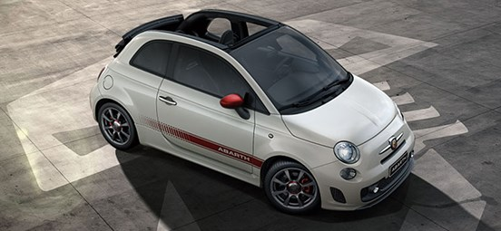 Abarth 595 Hood View