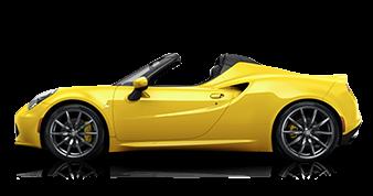 Alfa Romeo 4C Spider Yellow Exterior