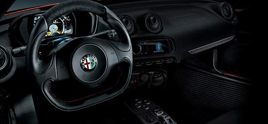 Alfa Romeo 4C Interior
