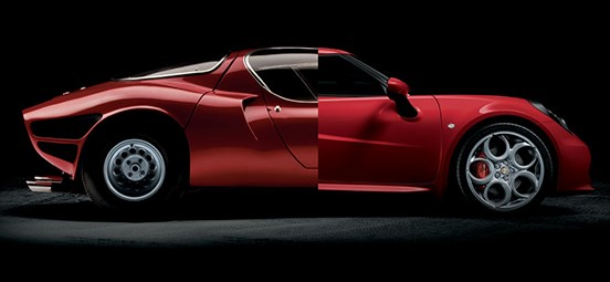 Alfa Romeo 4C Style