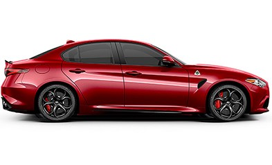 Alfa-Romeo-Giulia-Quadrifoglio Red Exterior