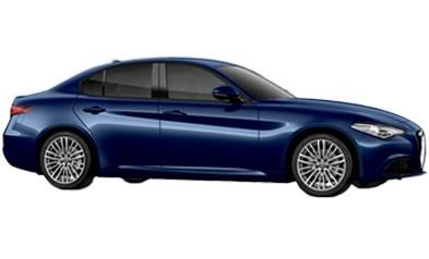 Alfa Romeo Giulia Exterior Blue Portrait