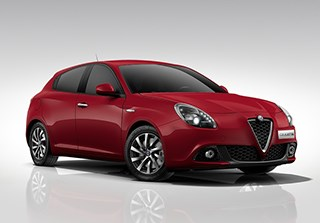 Alfa Romeo Giulietta Super Manual - Red