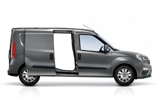 Fiat Professional Doblo Maxi Grey Exterior Side Profile