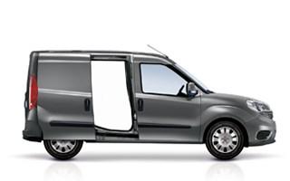 Fiat Professional Doblo Standard Grey Exterior Side Profile