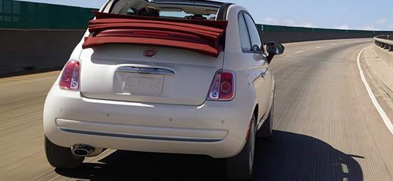 Fiat 500C Exterior