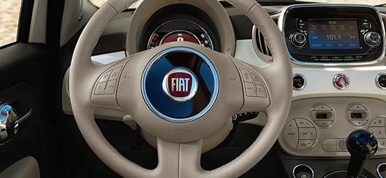 Fiat 500C Interior - Tan