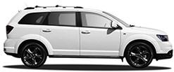 Fiat Freemont white exterior