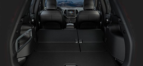 Jeep Cherokee Storage Capacity