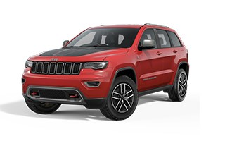 Jeep Grand Cherokee Trailhawk Red Exterior
