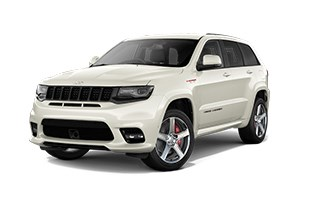 Jeep Grand Cherokee SRT Ivory Exterior