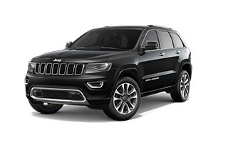 Jeep Grand Cherokee Overland Black Exterior