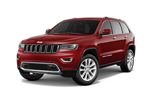 Jeep Grand Cherokee Limited  Red Exterior