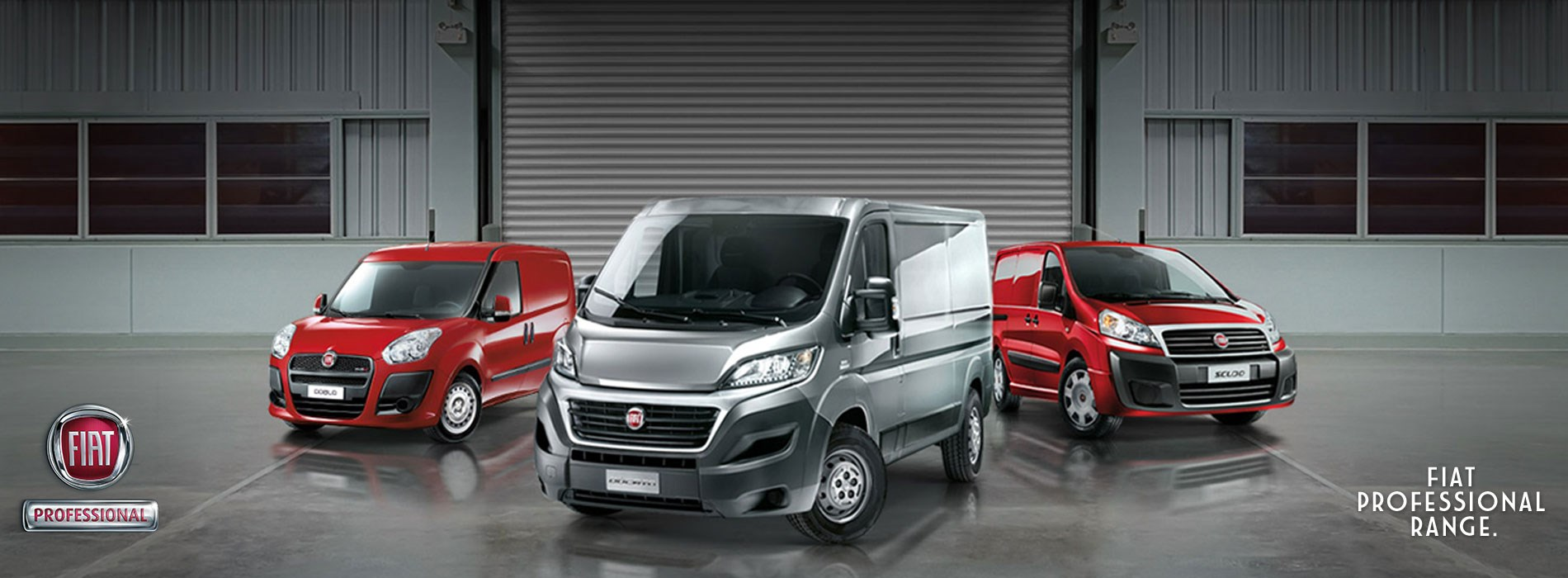 Fiat Professional Lineup