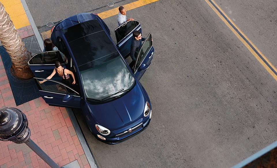 Fiat 500X Blue Exterior