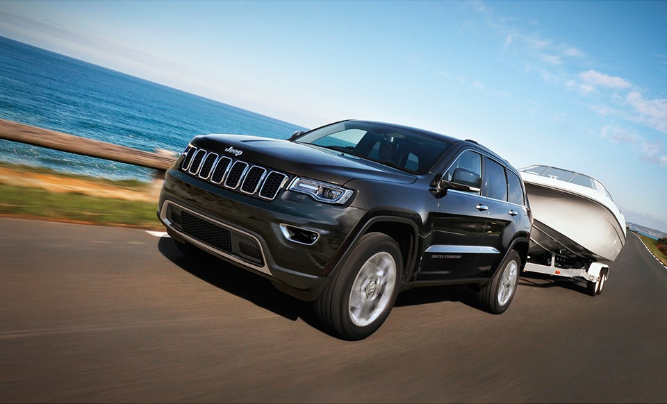 Jeep Grand Cherokee Black Exterior