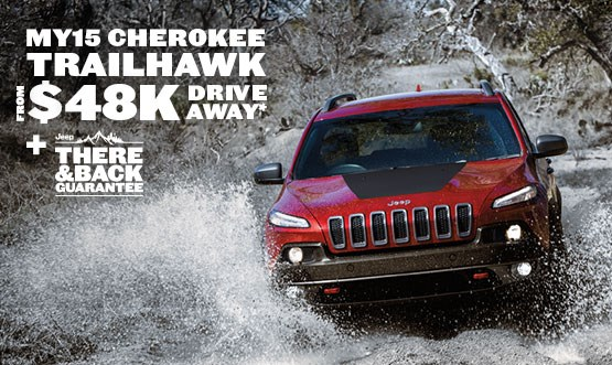 Jeep Cherokee Trailhawk $48K Drive Away Offer