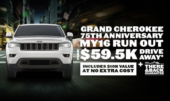 Jeep Grand Cherokee $59.5K Drive Away Offer