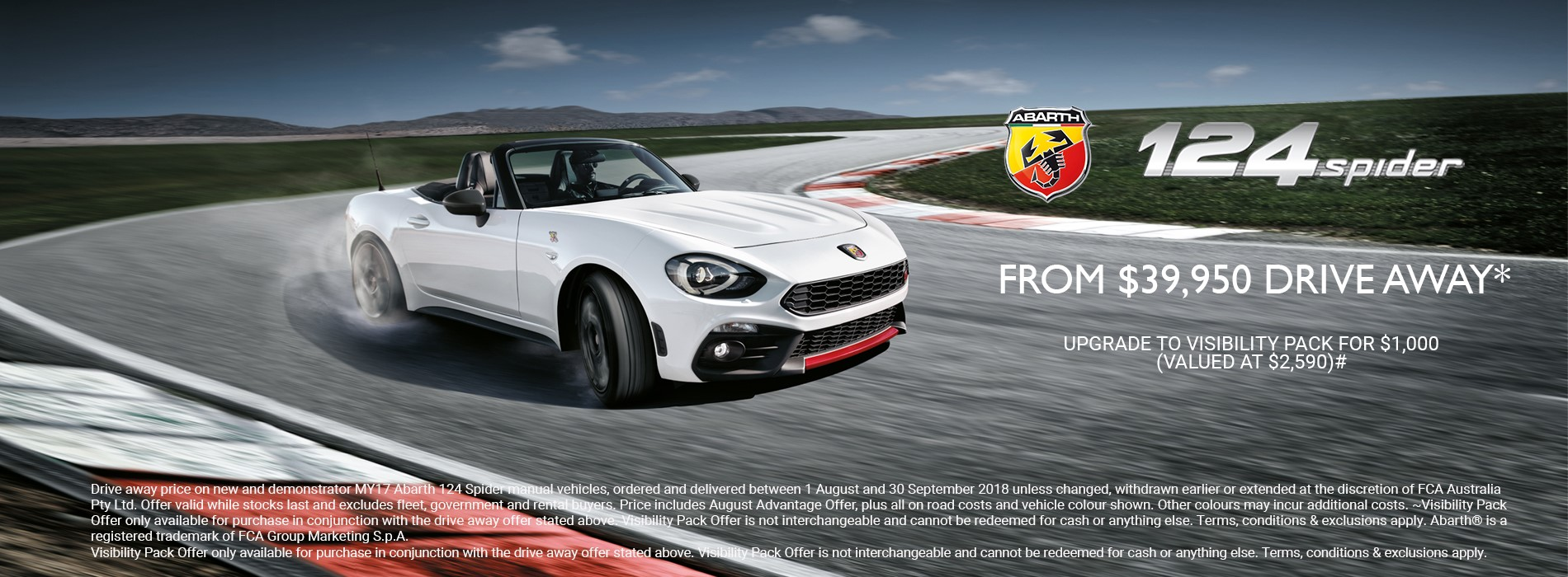 Abarth 124 Offer