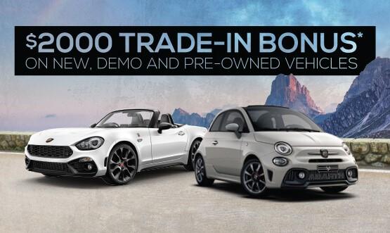 Leichhardt Trade-in Bonus Offer
