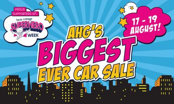 AHG Biggest Ever Car Sale