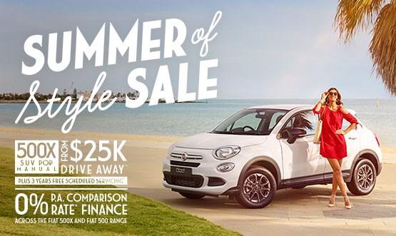 Fiat 500X Offer