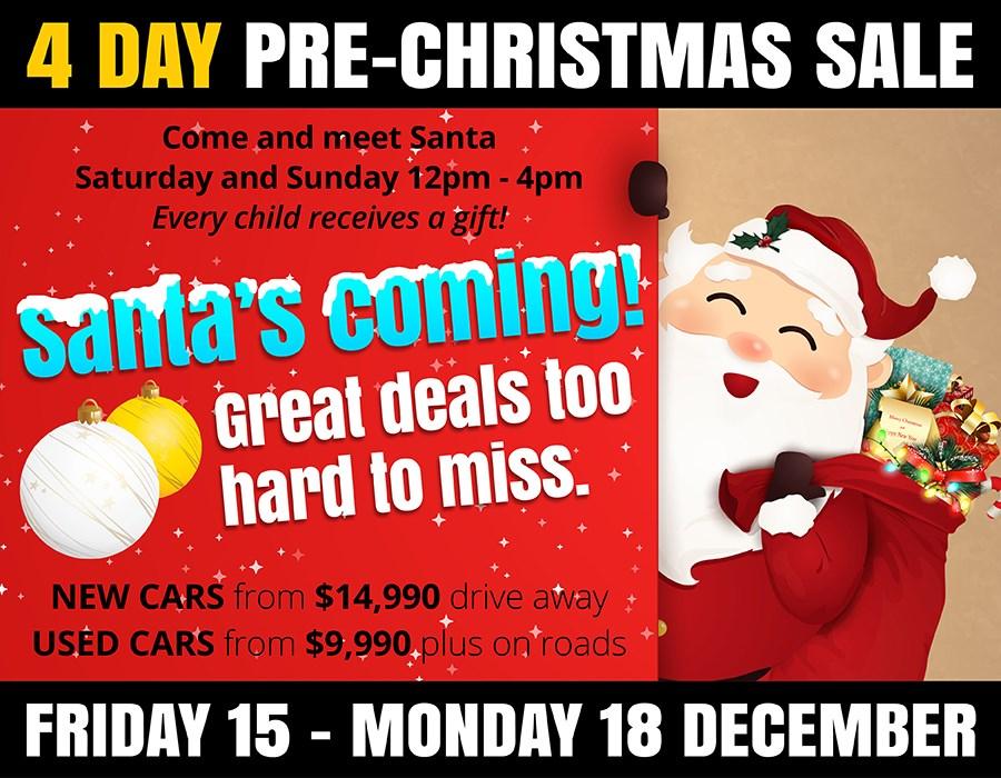 Parramatta Christmas Hours