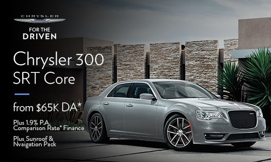 Chrysler 300 SRT Core $65K Drive Away Offer