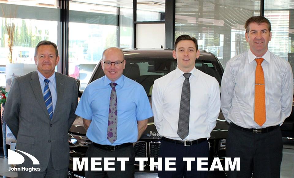 John Hughes Sales Team