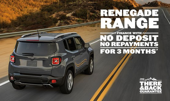 Jeep Renegade Range Finance Offer