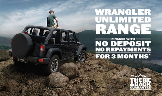 Jeep Wrangler Unlimited Range Finance Offer