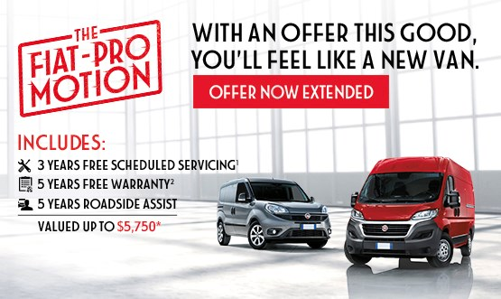 Fiat Professional Range Special Offer