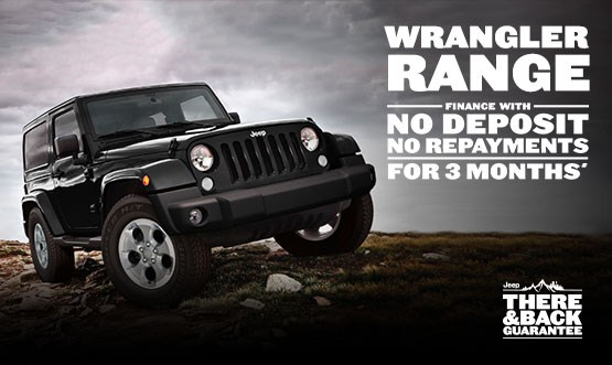 Jeep Wrangler Range Finance Offer