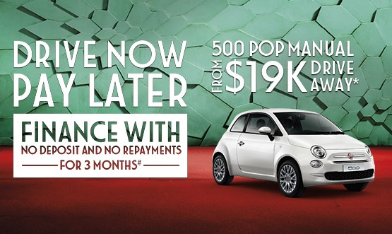 Fiat 500 Pop Manual $19K Drive Away Offer