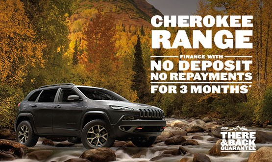 Jeep Cherokee Range Offer