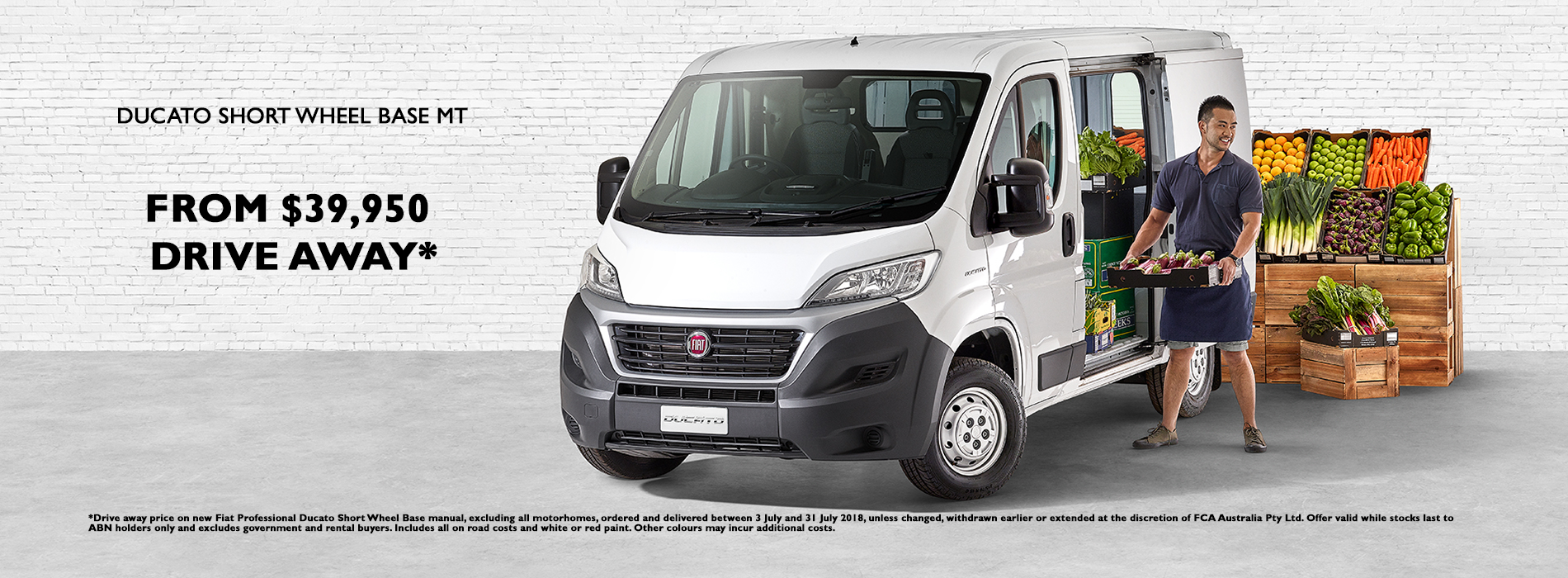 Fiat Professional Ducato Drive Away Offer