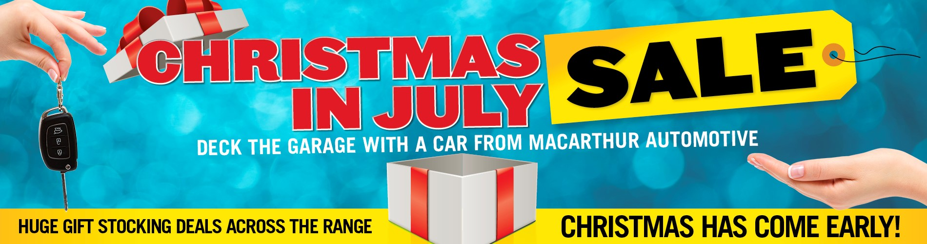 Macarthur Christmas in July Sale