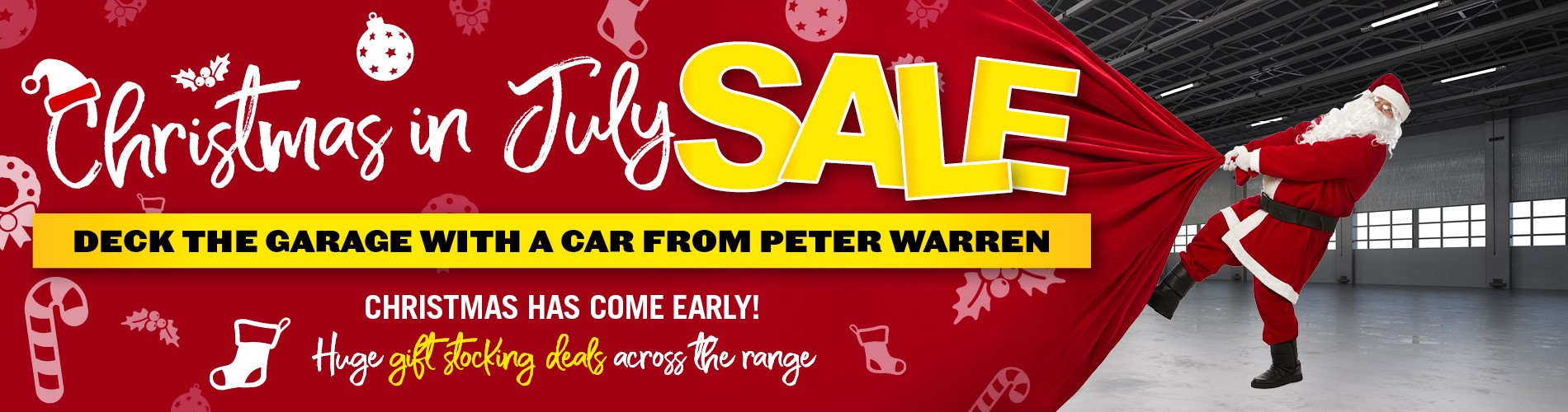 Peter Warren Christmas in July Sale
