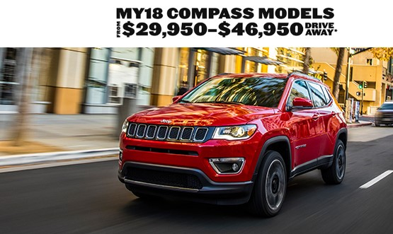 Jeep Compass Drive Away Offer