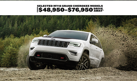 Jeep Grand Cherokee Drive Away Offer