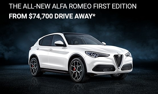 Alfa Romeo Stelvio Drive Away Offer