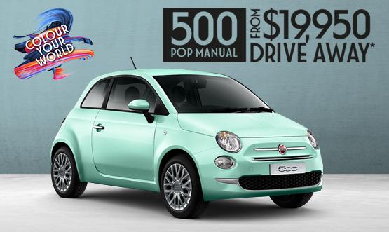 Fiat 500 Drive Away Offer