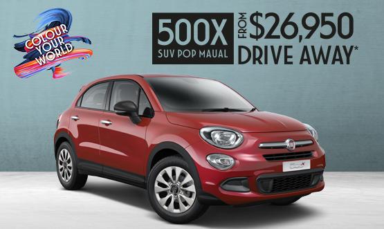 Fiat 500X Drive Away Offer
