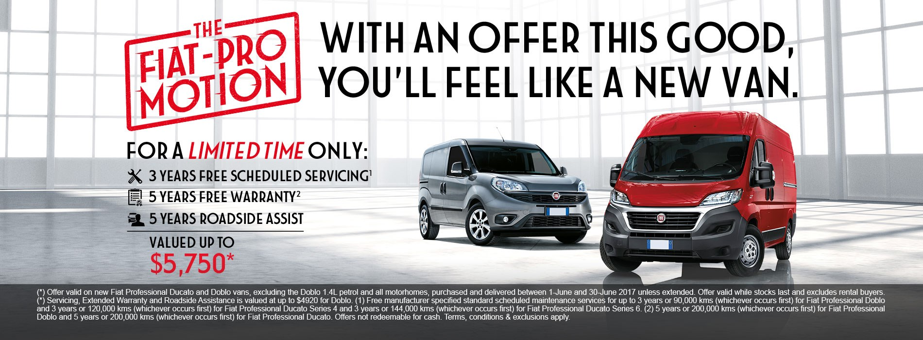 Fiat Pro Motion Offer