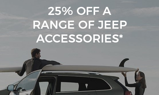 WSL 25% Off Jeep Accessories Offer