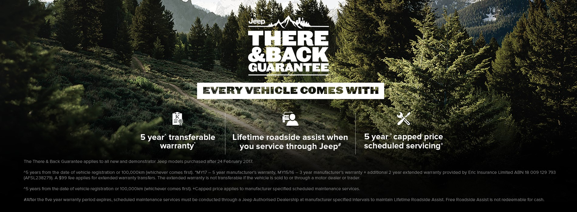 Jeep There & Back Guarantee