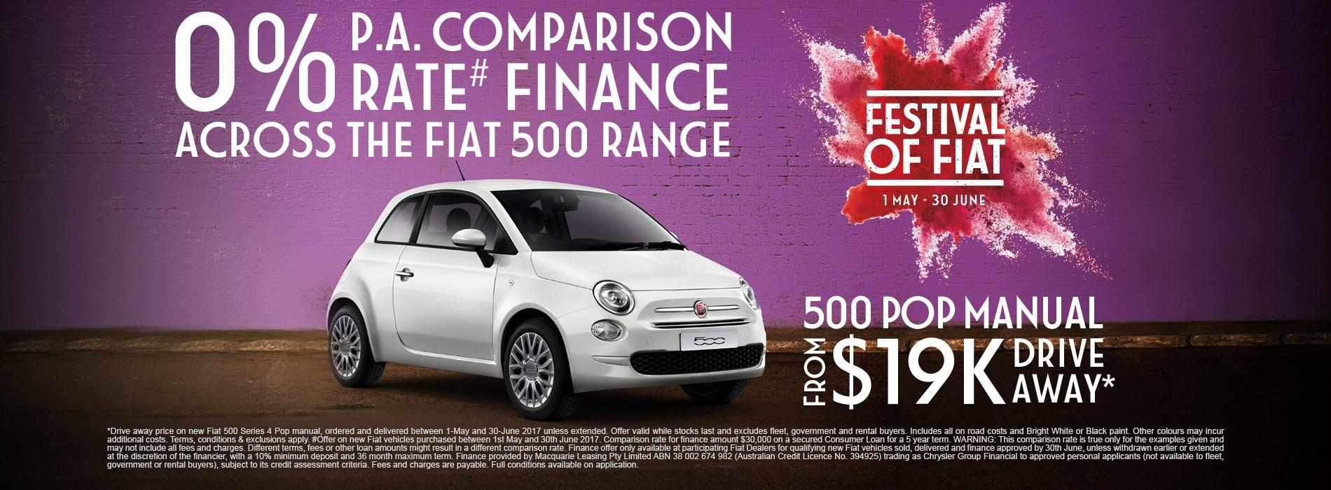 Fiat 500 Pop Manual