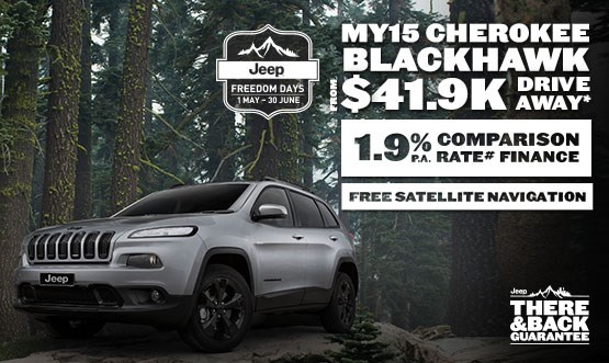 Jeep Cherokee Blackhawk MY15