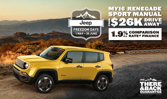 Jeep Renegade Sport Manual MY16